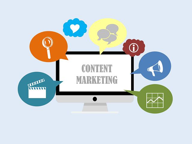 znázornění internetového marketingu